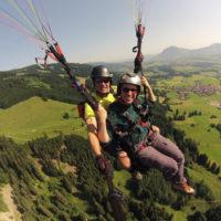 Paragliding Tandemflug 11