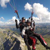 Paragliding Tandemflug Oase Flugschule
