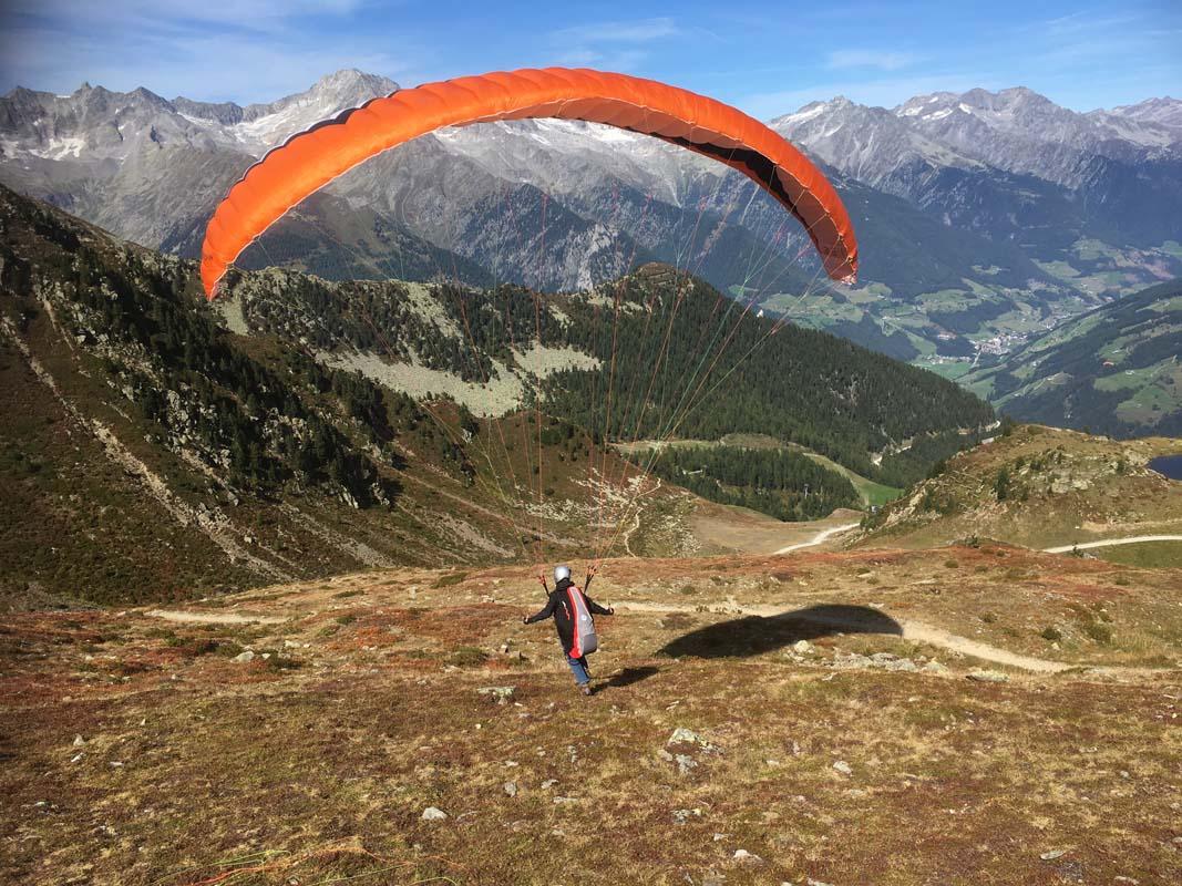 Gleitschirm-Reise-Südtirol