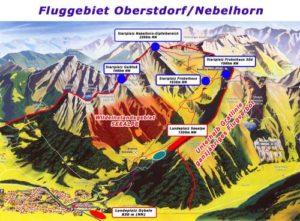 Fluggebiet Nebelhorn gesamt
